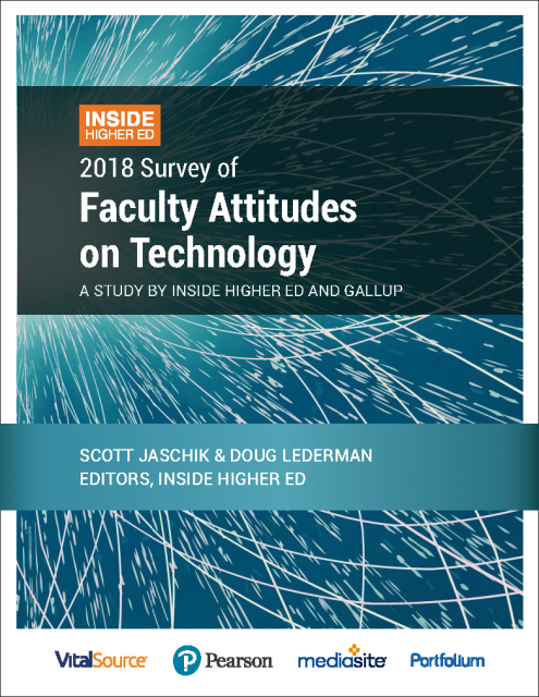 conflicted views of technology a survey of faculty attitudes
