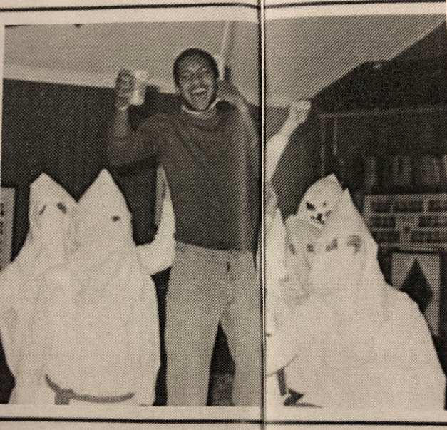 The yearbook photos from the University of Richmond reflect