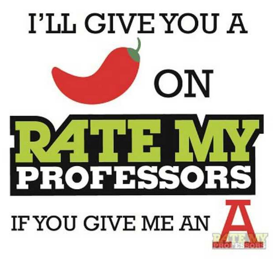 rate my professors ditches its chili pepper hotness quotient