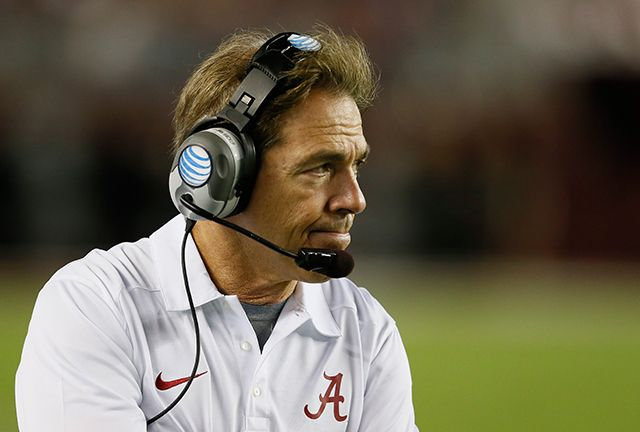 With a salary of $5.5 million, Alabama's Nick Saban made more money in 2013 than any other football coach.