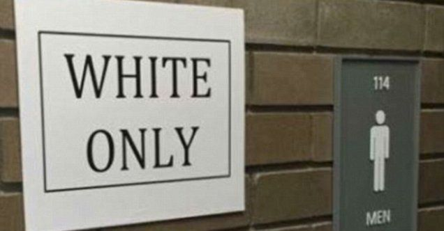 Suny white and black only signs may lead to new public for Black and white only