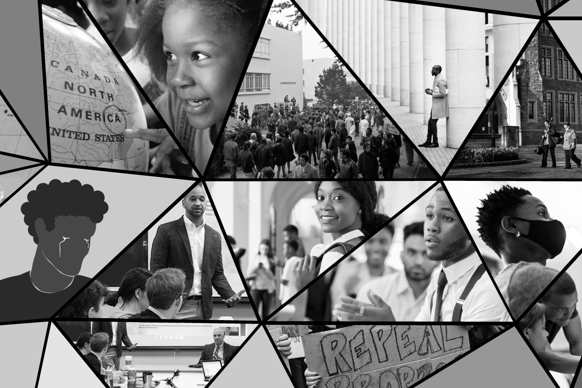 Collage of Black Experiences
