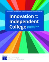 "Cover of ""Innovation and the Independent College: Examples From the Sector,"" from the Council of Independent Colleges"